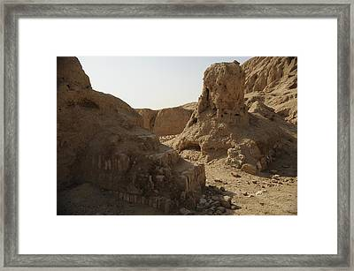 Ruins Of The Ancient City Of Ashur Framed Print by Everett