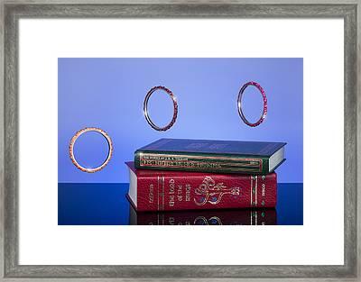 Ruled Over Framed Print by Noah Katz