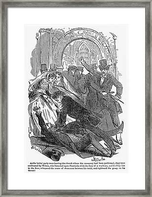 Rulison: The Mock Marriage Framed Print by Granger