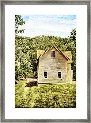 Rural Home Framed Print by HD Connelly