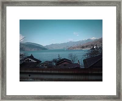 Rural Japan Framed Print by Naxart Studio