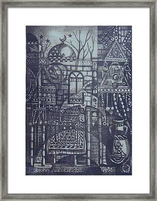 Rural Memory Framed Print by Ousama Lazkani