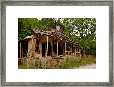 Rush General Store Framed Print by Marty Koch