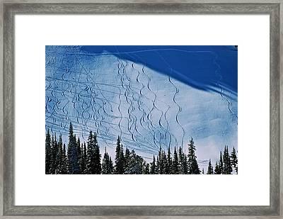 Rushing Back For Seconds Framed Print by Eric Tressler