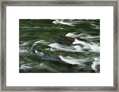Rushing River  Framed Print by John Greim