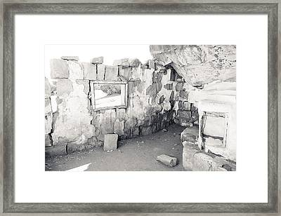 Russell Homestead Interior Framed Print by Julie Niemela