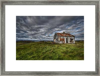Rust In Peace Framed Print by Evelina Kremsdorf