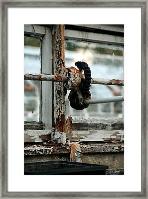 Rust Framed Print by Maglioli Studios