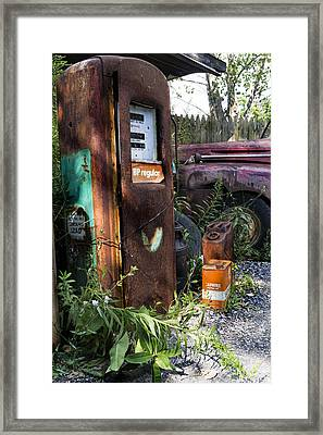 Rust Never Sleeps 2 Framed Print by Peter Chilelli