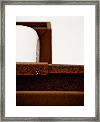 Rust Framed Print by Odd Jeppesen