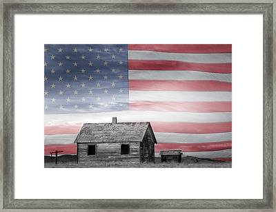 Rustic America Framed Print by James BO  Insogna