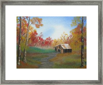 Rustic Framed Print by Amity Traylor