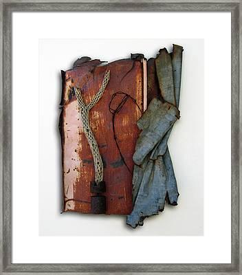 Rustic Elegance Framed Print by Snake Jagger