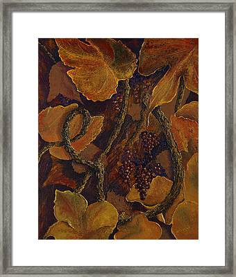 Rustic Harvest Framed Print by Deborah Ellingwood