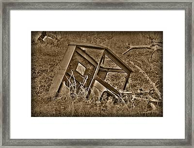 Rusting Away Framed Print by Shane Bechler