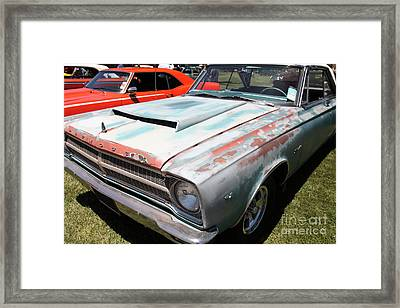 Rusty 1965 Plymouth Satellite . 5d16631 Framed Print by Wingsdomain Art and Photography