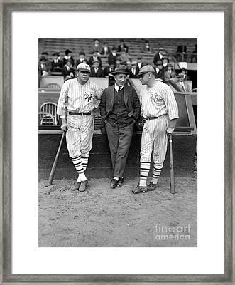 Ruth, Dunn And Bentley Framed Print by Granger