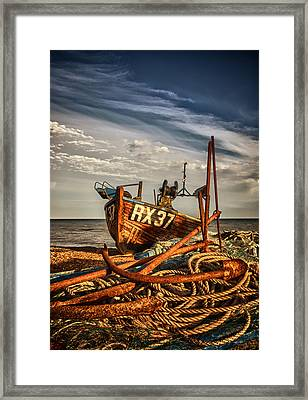 Rx37 Anchors Framed Print by Mark Leader