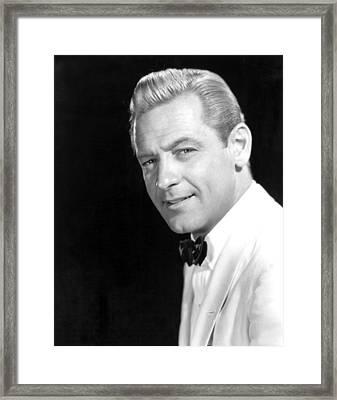 Sabrina, William Holden, 1954 Framed Print by Everett