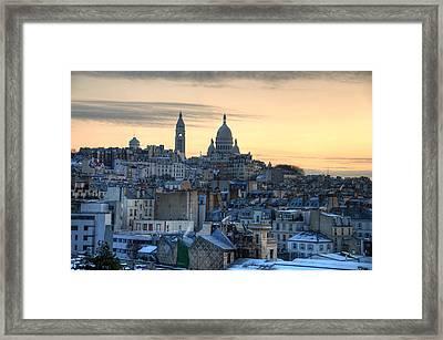 Sacre Coeur, Paris Framed Print by Richard Fairless