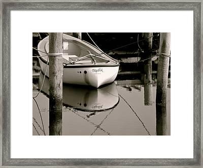 Safe Harbor Framed Print by Odd Jeppesen