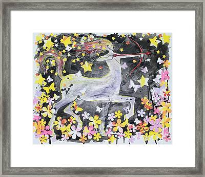 Sagittarius Framed Print by Glenn Boyles