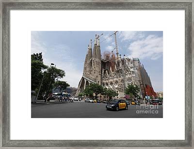 Sagrada Familia Barcelona Framed Print by Xavier Torres