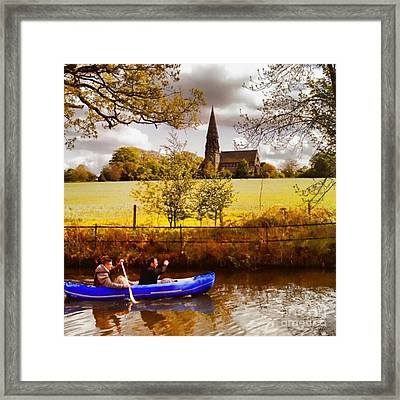 Sail Away Framed Print by Isabella Abbie Shores