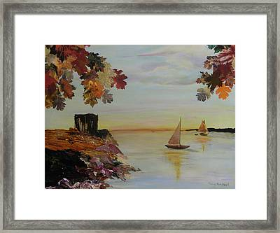 Sail Away Framed Print by Terry Honstead