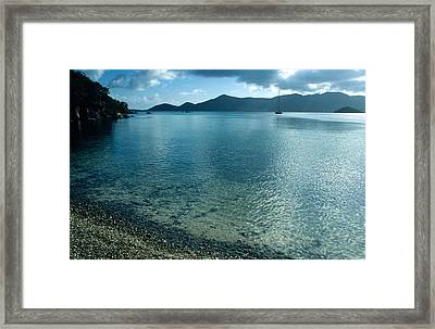 Sailing Away Framed Print by Kathy Yates