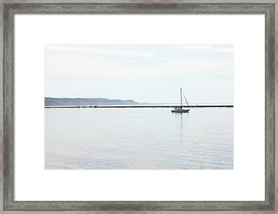 Sailing Framed Print by Sheryl Burns