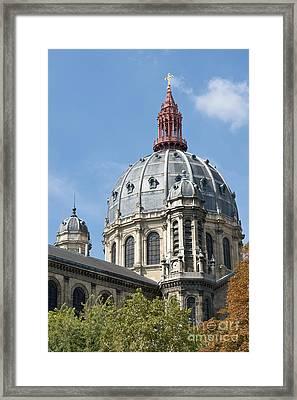 Saint Augustin Dome I Framed Print by Fabrizio Ruggeri