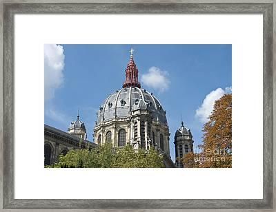 Saint Augustin Dome II Framed Print by Fabrizio Ruggeri