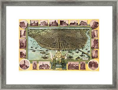Saint Louis 1896 Framed Print by Donna Leach