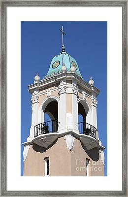 Saint Patrick's Church - Larkspur California - 5d18552 Framed Print by Wingsdomain Art and Photography