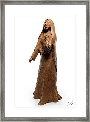 Saint Rose Philippine Duchesne Sculpture Framed Print by Adam Long