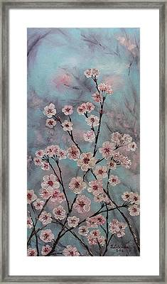 Sakura Framed Print by Yulia Litvinova