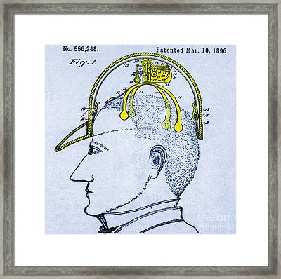 Saluting Device Framed Print by Science Source