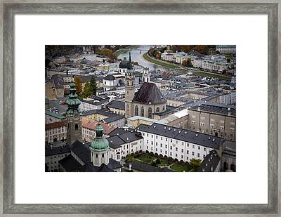 Salzburg  Framed Print by Anthony Citro