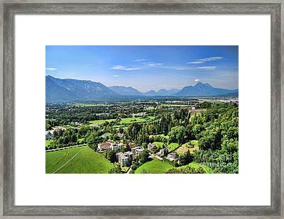 Salzburg IIi Austria Europe Framed Print by Sabine Jacobs