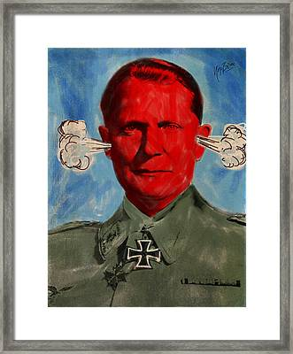 Sambal Goering Framed Print by Nop Briex