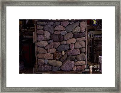 Sample Board Framed Print by The Stone Age