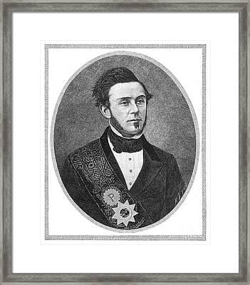Samuel Brannan (1819-1899) Framed Print by Granger