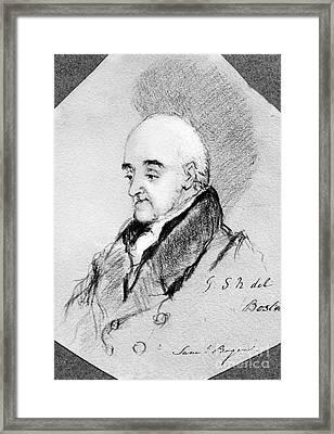 Samuel Rogers (1763-1855) Framed Print by Granger
