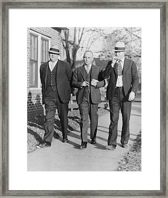 Samuel S. Leibowitz 1893-1978, Attorney Framed Print by Everett