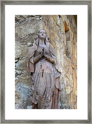 San Carlos Borromeo De Carmelo Mission 6 Framed Print by Bob Christopher