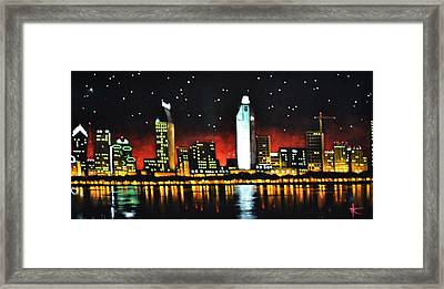 San Diago Framed Print by Thomas Kolendra