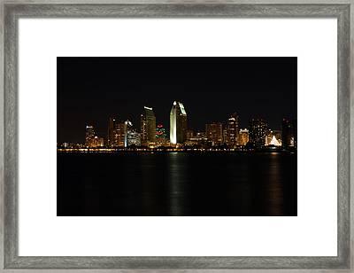 San Diego Framed Print by Steve Parr