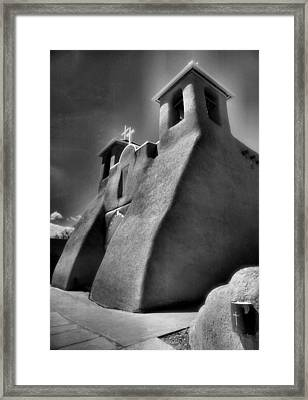San Francisco De Asis Church II Framed Print by Steven Ainsworth