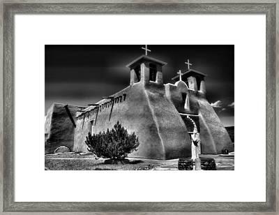 San Francisco De Asis Church IIi Framed Print by Steven Ainsworth